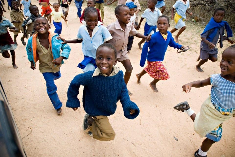 Children Running Zimbabwe, Krista Photography, Forgotten Voices