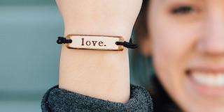 Love bracelet MudLOVE